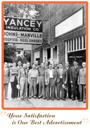 Yancey Insulation Co. History Photo