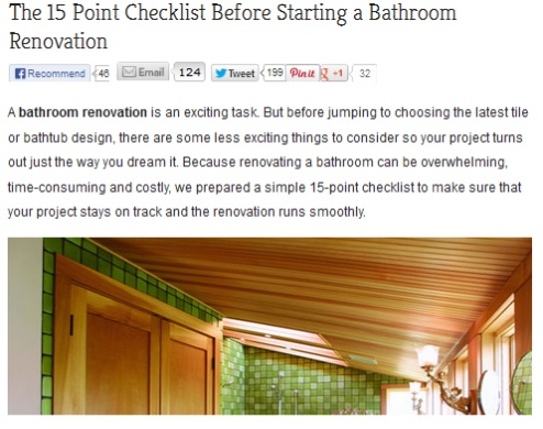 Getting A Bathroom Remodel In Sacramento Within Your Budget And Scope - Bathroom renovation sequence
