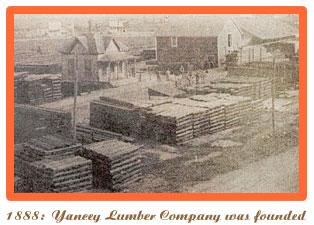 1888 Yancey Lumber Company